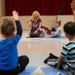 how to meditate with child