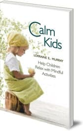 calm kids online course with book