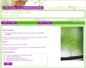 online workbook for teaching children meditation