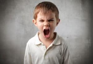 adhd - angry boy and meditation