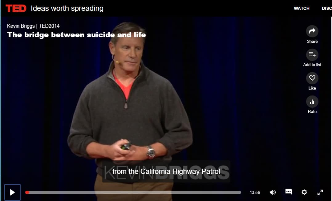 kevin briggs ted talk